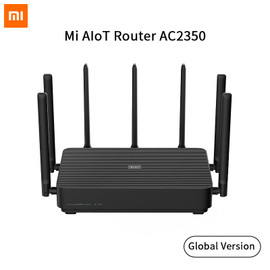 Xiaomi Mi AIoT Router AC2350 Gigabit 2183Mbps 128MB Dual Band WiFi Wireless Router Wifi Repeater With 7 High Gain Antennas Wider|Wireless Routers