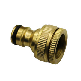 "1PCS Pure Brass Faucets Standard Connector Washing Machine Gun Quick Connect Fitting Pipe Connections 1/2 ""3/4"" 16mm Hose