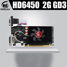 Veineda Graphics Cards HD6450 2GB DDR3 HDMI Graphic Video Card High end GameGraphicsCardHD6450|Graphics Cards