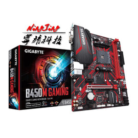 Gigabyte GA B450M GAMING (rev. 1.0) AMD B450 /2 DDR4 DIMM /M.2 /USB3.1 /Micro ATX /New / Max 32G Double Channel AM4 Motherboard|Motherboards