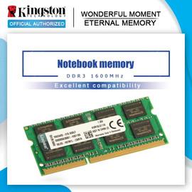 Original Kingston Memory Intel Gaming Memory DDR3 RAM 8GB 4GB 1600Mhz Notebook memory RAM Memory Sticks|RAMs