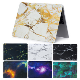 Marble Space PVC for Macbook Pro 13 15 Touch Bar 2018 Laptop Case A1989 A1990 Hard for Mac book Air Pro Retina 11 12 13 15 Cover|Laptop Bags & Cases