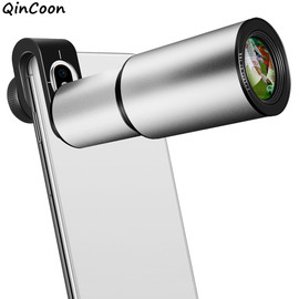 16X Zoom Telephoto Lens 4K HD Monocular Telescope Aluminum Alloy Shell Phone Camera Lens for iPhone Samsung Smartphone Mobile|Mobile Phone Lens