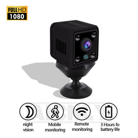 ip camera mini camera baby wifi HD 1080P Night Vision Camcorder Motion DVR Motion detection CMOS Sensor Recorder Camcorder|Surveillance Cameras