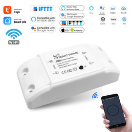 DIY Smart Home House Wifi Wireless Remote Switch Domotica LED Light Controller Module for Alexa Google Home Smartlife Tuya APP|Switches