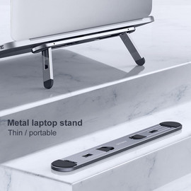 Oatsbasf Laptop stand suporte notebook tablet accessories macbook pro stand Mini Foldable laptop Portable holder Cooling stand|Laptop Stand