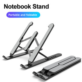 Adjustable Foldable ABS Laptop Tablet Stand Portable Desktop Holder Mounts Laptop Accessories For Macbook Pro Air Notebook Stand|Laptop Stand