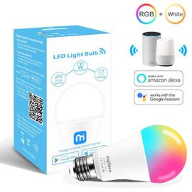 Siri Voice Control 15W RGB Smart Light Bulb Dimmable E27 B22 WiFi LED Magic Lamp AC 110V 220V Work with Alexa Google Assistant|LED Bulbs & Tubes