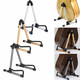 Electric Guitar Rack Stander Holder Folding A Frame for Acoustic Guitar protect Classic Guitars Base Ukulele Floor Stand Holder|Guitar Parts & Accessories