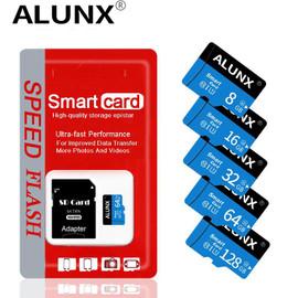 Micro SD TF Card 8GB 16GB 32GB 64GB 128GB 256GB Class 10 Flash Memory Card Microsd 8 16 32 64 128 256 GB for Smartphone Adapter|Micro SD Cards