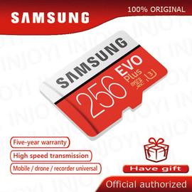 Original SAMSUNG Micro SD card 32GB Class 10 Memory Card EVO+ EVO Plus microSD 256GB 128GB 64GB 16GB TF Card cartao de memoria|cartao de memoria|cartao de16gb tf card
