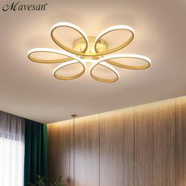 Modern Led Chandelier Lighting for Living room Bedroom Indoor Lamp Remote control lustre chandelier lamp AC90v 260v lampadario|Chandeliers