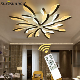 Creative Acrylic Modern Led Chandeliers For Living room Bedroom Kitchen Fixtures Surface Mounted Led Ceiling Chandelier Fixtures|Chandeliers