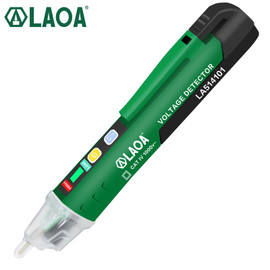 LAOA Voltage Meter Induction Probe Pen Test CAT VIT 1000V Multifunction Electric Pen Tester Voltage Detector Test With CE|Voltage Meters
