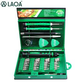 LAOA 38 in 1 Screwdrivers Set Precision Screwdriver bit set Laptop Mobile phone Repair Tools Kit Precise Screw Driver Hand tools|phone repair tool kit|phone repairtool kit