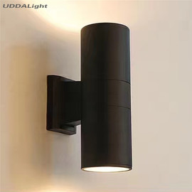 Up Down Outdoor Wall Light Black Gray 10W Waterproof 65 * 160mm Garden Porch Led Lamp Aluminum IP65|lamp outdoor|led outdoor lampled wall outdoor