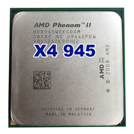 Official Original AMD Phenom II X4 945 CPU processor 3.0GHz Socket AM2+/AM3 938pin L3/6M Quad CORE 95W|cpu processor|socket am2phenom ii x4 945