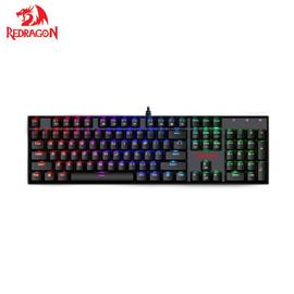 Redragon K551 RGB MITRA 104 Keys LED Backlit Mechanical Gaming Keyboard for Computer Gamer|mechanical gaming keyboard|gaming keyboardkeyboards for computer