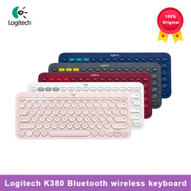 Logitech K380 multi device Bluetooth wireless keyboard linemate multi color Windows MacOS Android IOS Chrome OS universal|Keyboards