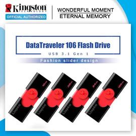 Kingston USB Flash Drive DT106 32gb Pendrive usb 3.1 16GB U Disk Pen Drive usb 64gb 128gb Memory Stick Flash Memoria USB|USB Flash Drives