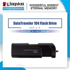 Kingston new USB Flash Drive DT104 16GB 32G 64GB Business Office Car USB Stick USB 2.0 Pen Drive|USB Flash Drives