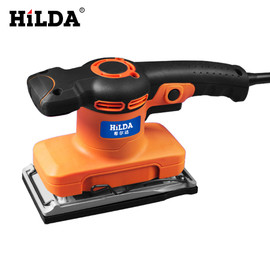 HILDA Wall Grinding Machine Flat Sander Small Electric Tools For Woodworking Polishing With Sandpaper|Sanders|