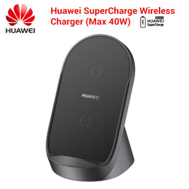 Original Huawei SuperCharge Wireless Charger Stand 40WCP62 Car Charger For P40 Pro Mate 30 Pro for S20 Ultra S10 Foriphone 11/X|Wireless Chargers|