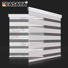 High Quality Zebra Blinds Big Dustproof Cover System day night blinds window bedroom living room Roller Blinds Custom Size|Blinds, Shades & Shutters|