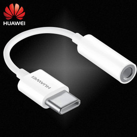 Huawei USB Headphone Converter Phone Adapter Original 3.5mm Type C Audio Cable Adapter For P10 P20 Mate10 20 Pro RS Honor 20 Pro|Phone Adapters & Converters|