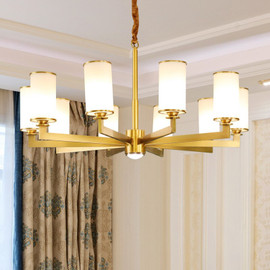 Modern Luxury Grass Gold LED Black Copper Nodic Chandeliers For Living Dining Room Lamp Hanging Indoor Lights Fixture|Chandeliers|
