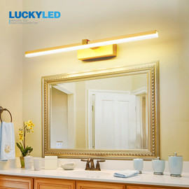 LUCKYLED Led Bathroom Light Waterproof Mirror Light 8w 12w AC85 265V Wall Light Fixture Modern Wall Lamp for Living Room Bedroom LED Indoor Wall Lamps 