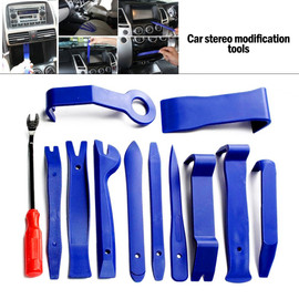 Car Hand Tool Car Disassembly Tools Set DVD Stereo Refit Kits Interior Plastic Trim Panel Dashboard Removal Tool Repair Tools| |