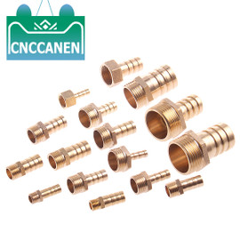 "Hose Barb Tail 6/8/10/12/14/16/19/25MM Brass Pipe Fitting 1/8"" 1/4"" 3/8"" 1/2"" 1"" BSP Male Connector Joint Copper Coupler Adapter