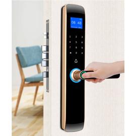 Certification authority Security Intelligent Door Lock Biometric Fingerprint Lock Safe Eletronic Door Smart Unlock Digital Lock|Electric Lock|