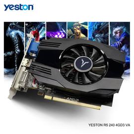 Yeston Radeon R5 240 GPU 4GB GDDR3 64bit Gaming Desktop PC Video Graphics Cards support VGA/DVI D/HDMI radeon r7 r7 240graphic card