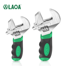 LAOA 6inch/8inch Adjustable Wrench Monkey Wrenches Multifunction Spanner Pipe Wrench|Wrench|