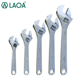 """LAOA Monkey Wrench 4"""" 6"""" 8"""" 10"""" 12"""" Adjustable Spanner Shifting Spanner Car Repair Tools