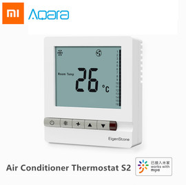 Xiaomi Aqara EigenStone Smart Air Conditioner Thermostat S2 Cooling Heating For Central Air Conditioning Fan Temperature Control|Smart Remote Control|