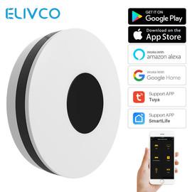 Tuya Universal Smart WiFi IR HUB Remote Controller Smartlife APP Control Compatible Alexa Google Home Smart Home Automation|Home Automation Modules|