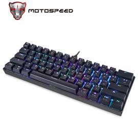 Motospeed CK61 Mechanical Keyboard USB Wired 61 keys RGB Backlight Gaming Keyboard|Keyboards|