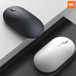 Original Xiaomi Wireless Mouse 2 1000DPI 2.4GHz WiFi Link Optical Mute Portable Light Mini Laptop Notebook Office Gaming Mouse|Mice|