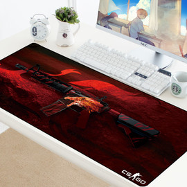 CS GO Custom Large Mouse Pad Speed Keyboards Mat Rubber Gaming Mousepad Desk Mat for Game Player Desktop PC Computer Laptop csgo|Mouse Pads|