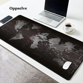 Office Desk Mats Oversize Mousepad Gaming Mouse Cushion XXL Mat World Map Mouse Pad Keyboard Pad Gel Soft Silicon Mouse Carpet|Mouse Pads|