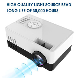 Mini Projector 1080P Full HD LED Projector J15 Projector 1920*1080P Home Theater Handheld Movie Beamer Newly Hot|LCD Projectors|