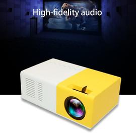 Mini Projector J9 HD Home Projector Theater Media Player Support 1080P AV USB Micro SD Card USB Portable Pocket Beamer VS YG 300|LCD Projectors|
