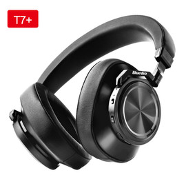 Bluedio T7+ Headphone Bluetooth User defined Active Noise Cancelling Wireless Headset With Microp For phone Support SD Card Slot|Bluetooth Earphones & Headphones|