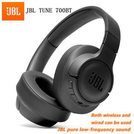 JBL Bluetooth Headphones TUNE 700BT Wireless Pure Bass Earphone Gaming Sports Headset Multi Point Connection Handsfree with|Bluetooth Earphones & Headphones|