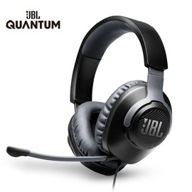 JBL Gaming Headset QUANTUM100 7.1 with Mic Microphone Foldable Headphones for PS4 for Nintendo Switch for Xbox One PC TV Phone|Headphone/Headset|