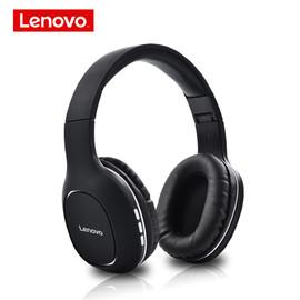 Lenovo HD300 Wireless Bluetooth Headphones Foldable Hifi 3D Deep Bass Earphones with Microphone Gaming Headset For Mobile PC|Bluetooth Earphones & Headphones|