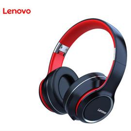 Lenovo HD200 Bluetooth Earphones Over ear Foldable Computer Wireless Headphones Noise Cancellation HIFI Stereo Gaming Headset|Bluetooth Earphones & Headphones|
